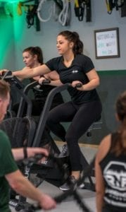 HIIT on modern exercise bikes